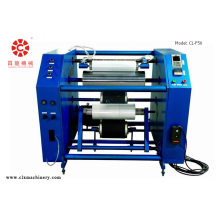Pe stretch film rewinding slitter machine