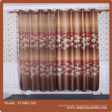 Printed style upholstery curtain fabric textile manufactures Curtain Made in China