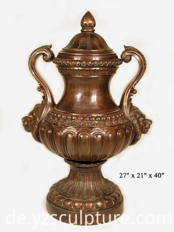 Antique Copper Vases