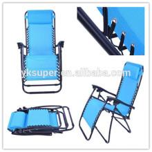 Cadeira ajustável ajustável ajustável da cadeira de Lafuma da cadeira de reclinação, cadeira do jardim Zero Gravity