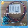 Aqua OM3 LC Optical Fiber Pigtail 0.9mm