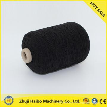 spandex de hilado de la cubierta del spandex del poliester caucho cubierto hilado poliester cubierto spandex hilados de polyester / hecho en hilo elástico de china