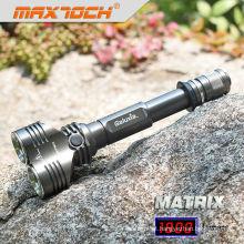 Maxtoch MATRIX 18650 alumínio brilhante Super caçador LED Lanterna