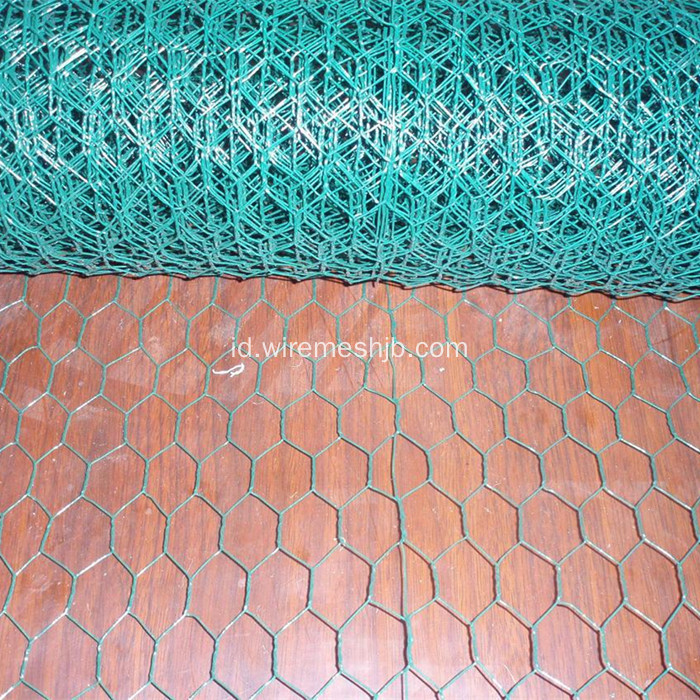 PVC Coated Hexagonal Chicken Wire