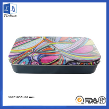 Decoration Pencil or Pen Tin Box Gift