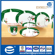 2014 new arrival wholesale ceramic Christmas decoration
