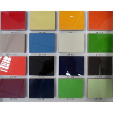 """Hochglanz-Laminat-UV-Platten Melamin-Board-Baustoff für Küche & Möbel (4 """"X8"""")"""