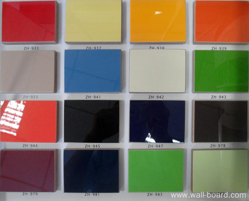 high gloss cheap laminate uv boards melamine board building