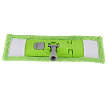 New Design Professional Household Green Cleaning Double Side Flat Microfiber Mop Head