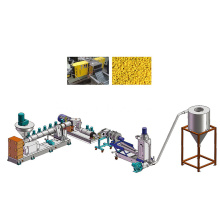 Double stage / rank granulating line