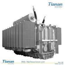 Transformador de energia imerso no óleo / Transformador elétrico de três fases no forno de arco