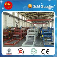 Linha de produção de painéis compostos de alumínio