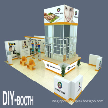 Custom Most Versatile Modular Portable Exhibition Booth Display Systems