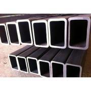 Black Welded Rectangular / Square Steel Pipe/Tube