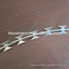Galvanized sharp blade razor barbed wire export to Lebanon concertina razor wire