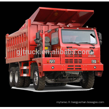 6 * 4 70T Sinotruk HOWO Mine camion à benne basculante / HOWO minier camion / 70T HOWO mine camion / 70T HOWO mine benne camion