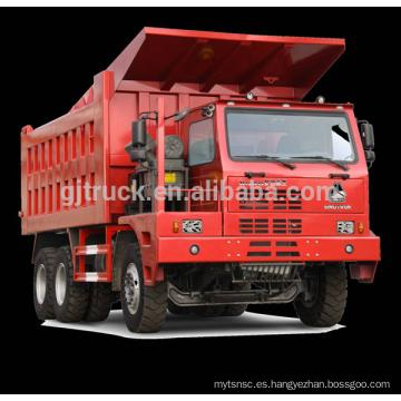 Camión de la mina de 6 * 4 70T Sinotruk HOWO / camión de la explotación minera de HOWO / camión de la mina de 70T HOWO / camión de volquete de la mina de HOWO 70T