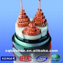 Grade do estado 0.6 / 1 (1.2) kV XLPE isolou o cabo resistentes ao fogo Preço
