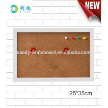 """Mini tableros del corcho con el marco blanco de la foto tablero del marco 25 * 35cm / 93.8 * 13.8 """""""