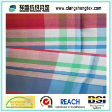 Tissu de coton pur avec plaid
