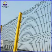 Low price for Triangle 3D Fence PVC Coated Curvy Welded Fence supply to Anguilla Importers