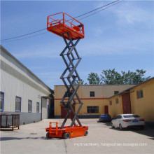Sjd-8 Self Propelled Hydraulic Lift Table