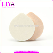 hot sale oval cosmetic sponge puff, free latex powder puff 2015