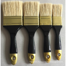 Double Colour Wood Handle Bristle Wire Paint Brush (YY-612)