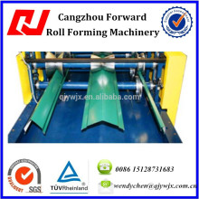 Metal Roof Ridge Cap Roll Forming Machine