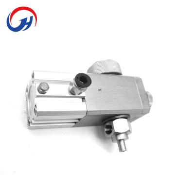 Válvula abrasiva para máquina de corte de aço metálico por jato de água