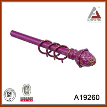 A19260 conjunto de la barra de la cortina, accesorios de la barra de la cortina, finial de la barra de la cortina del metal