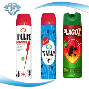 Leistungsstarke Tötungsfähigkeit Insektizidspray mit Permethrin oder kundenspezifischer Komposition