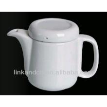 Керамический горшок / белый керамический чайный горшок с ручкой