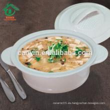 China Venta al por mayor caliente barato redondo Bowl de la sopa de cerámica súper tazones