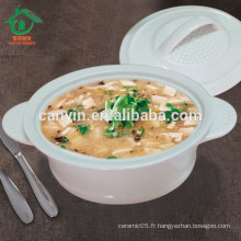 Chine Hot Cheap Wholesale Round Soup Bowl Ceramic Super Bowls