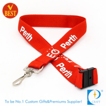 Custom Insurance Staff Lanyard with Printed Logo.