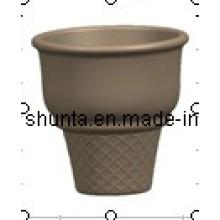 Vaisselle de mélamine de 100% - cône de glace / colorée / beauté / vaisselle de mélamine de 100% (QQB34)