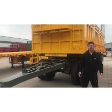 Full-trailer Dump Truck Dumping Trucks