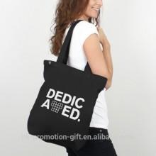 New Eco Friendly women shoulder bag,standard size cotton tote bag for women,shopping standard size cotton tote bag