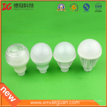Professional Injection Parts LED Cover PC Lamp Plastic Bulb