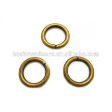 Moda de alta qualidade Metal Antique Brass O Anéis