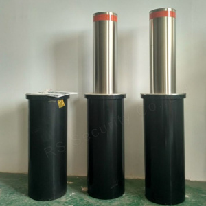 Säkerhet Full Automatic Retractable Bollards