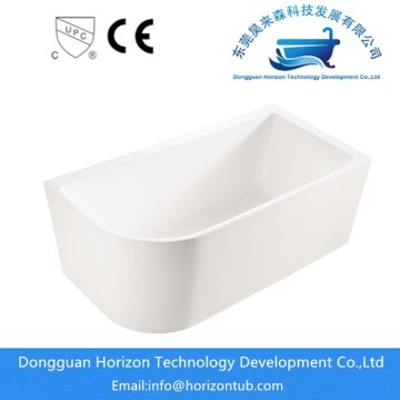 Freestanding tub with skirt designs