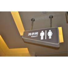 Centro comercial impermeable al aire libre Signo LED de acrílico LED del baño