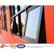 Fenêtre d'auvent en aluminium / U-PVC de qualité supérieure de fabricant de la Chine