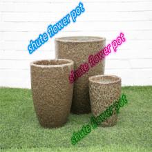 courtyard natural purple sand breathable flower pot