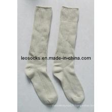 Chaussettes à l'aiguille à double aiguille
