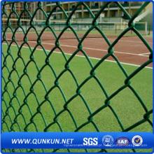 PVC revestido de segurança fio de rede de vedação Link Link com preço de fábrica