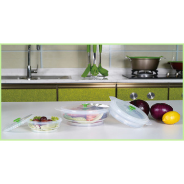 Neue Produkte Durable Silikon faltbare Lunch Bowl