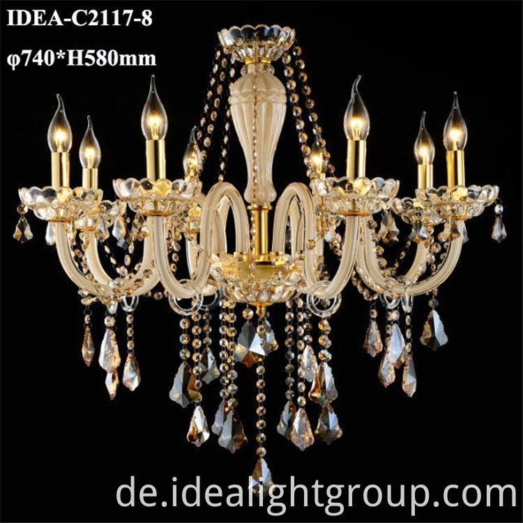 restaurant chandelier lighting